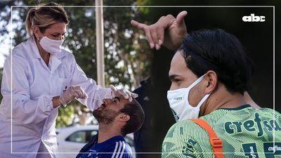 ¿Cómo viajaron Cáceres y Gómez a Brasil durante la pandemia?