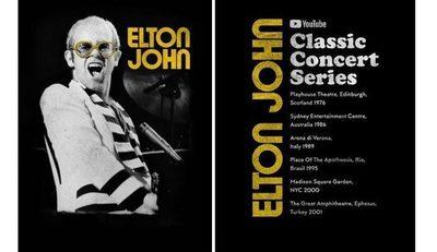 Elton Jhon lanza serie de sus conciertos más recordados para la lucha contra la Covid 19