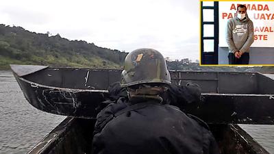 Brasileño es detenido por ingresar ilegalmente por el río Paraná