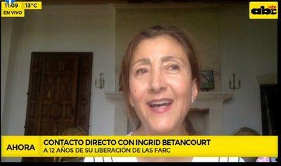 A 12 años de su liberación, Ingrid Betancourt llama a ser más humanos y solidarios