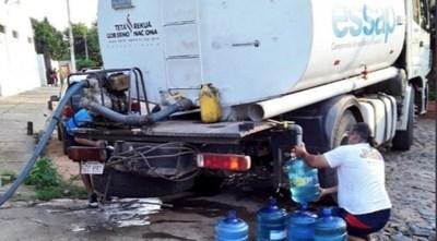 Essap: 7 barrios de Asunción se encuentran sin agua