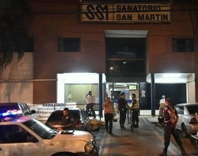 Abandonan a mujer muerta en un sanatorio