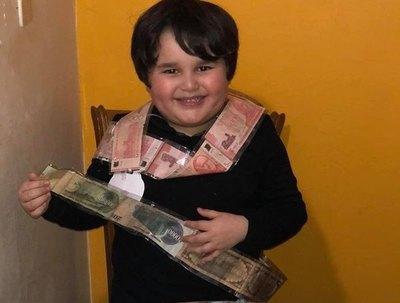 Benja, el peque millonario que se va a comprar para su play