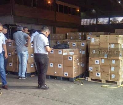 """Jugosa COIMA para aduaneros por 77 mil kilos de CARGA que ingreso por el """"GUARANÍ"""""""