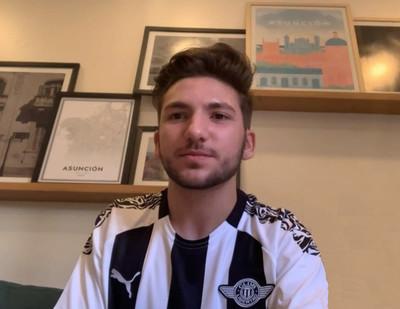 Ignacio Masulli cuenta cómo es jugar en una transmisión en vivo