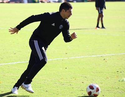 Rodrigo Rojas, listo para encarar el reinicio del campeonato