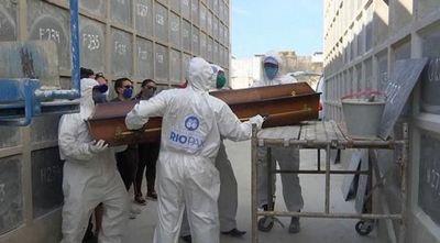 Brasil se acerca a las 62.000 muertes y a los 1,5 millones de casos de COVID-19