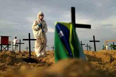 Brasil: Mientras anuncian reapertura de comercios, reportan más de 1.200 muertes por COVID en 24 horas