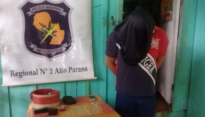 """Antinarcóticos de la Policía oficina Alto Paraná se """"destaca"""" por su inoperancia"""