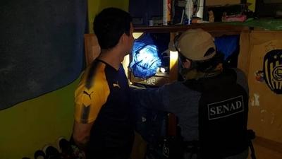 HOY / Desmantelan mayor red de traficantes de cocaína: lider de barra de Luque es el cabecilla