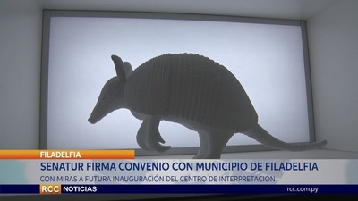 SENATUR Y MUNICIPALIDAD DE FILADELFIA FIRMAN CONVENIO