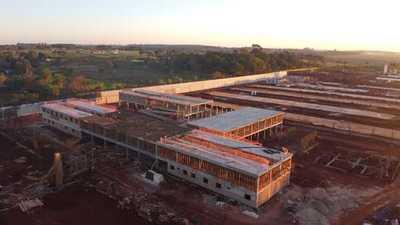 Construcción de nueva cárcel de Minga Guazú alcanza una ejecución del 38%