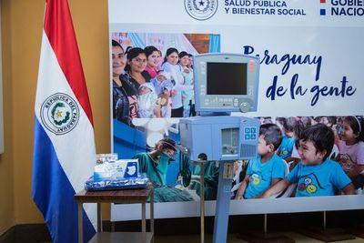 Salud recibió donación del sector privado para la atención de casos graves de Covid-19