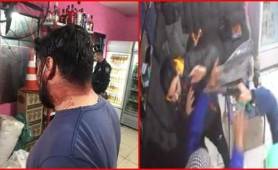 Violentos motochorros asaltan bodega en el barrio Don Bosco