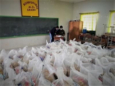 Entregan más de 26.000 kilogramos de alimentos a estudiantes de Mariscal Estigarribia