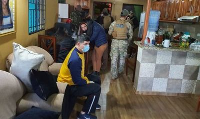 Desmantelan mayor red de distribución de cocaína en Central