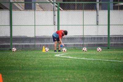 Primer caso de COVID-19 detectado en el fútbol paraguayo.