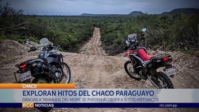EXPLORAN EMBLEMÁTICOS HITOS HISTÓRICOS DEL CHACO