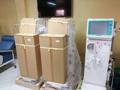 Octava Región Sanitaria recibió 3 hemodiálisis donado por la EBY