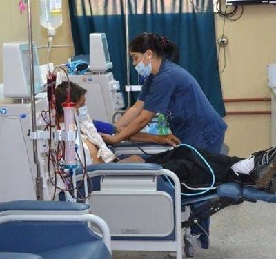 HOY / Pacientes renales recibieron medicamento y no fueron a protesta