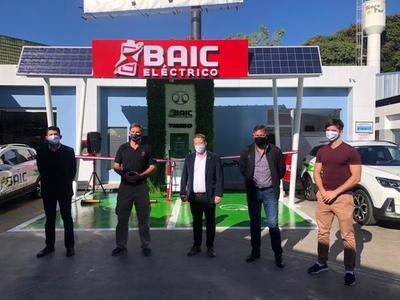 BAIC lanza nuevos cargadores eléctricos en estaciones del Grupo Bahía