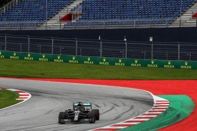 Hamilton dominó la primera sesión libre del GP de Austria