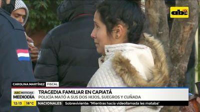 Tragedia familiar en Capiatá