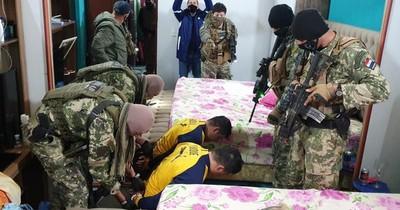 Luque: 15 detenidos por red narco son sometidos a pruebas de COVID-19 antes de declarar