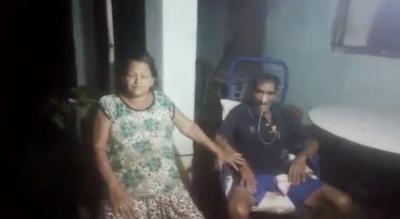 Abuelitos reclaman asistencia del Gobierno y piden colaboración a la ciudadanía