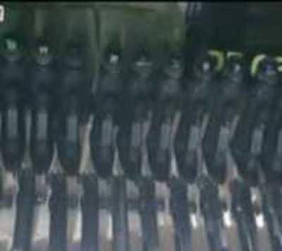 Caen 5 personas con municiones de guerra