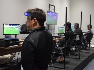 Entrenamiento con simulador VAR