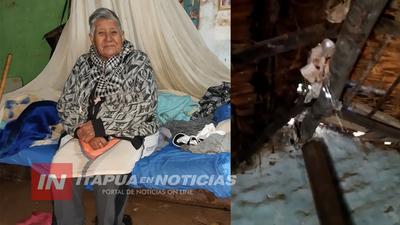 SOLICITAN AYUDA PARA UNA PAREJA DE ABUELOS DE CORONEL BOGADO