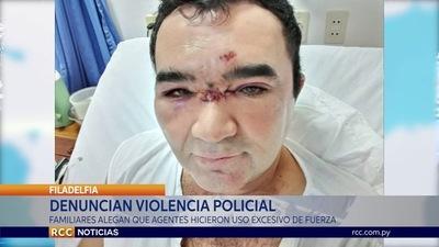 DENUNCIAN A AGENTES POLICIALES POR SUPUESTO USO EXCESIVO DE LA FUERZA EN FILADELFIA