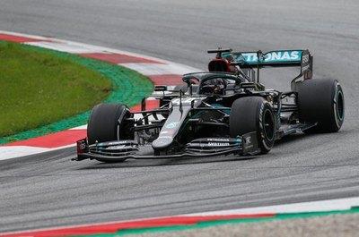 Hamilton fue de nuevo el más rápido en la última sesión libre del GP de Austria
