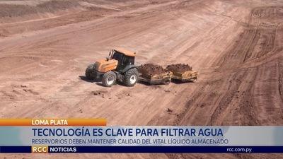 TECNOLOGÍA ES CLAVE PARA FILTRAR AGUA EN EL CHACO PARAGUAYO