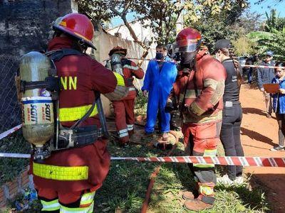 Hombre muere calcinado durante incendio en J. Augusto Saldívar