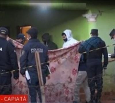 Habló la madre de los pequeños asesinados por el policía en Capiatá