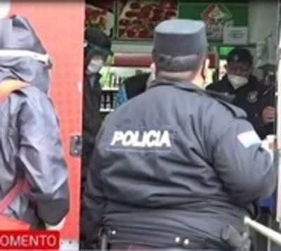 Dos heridos en violento asalto en San Lorenzo