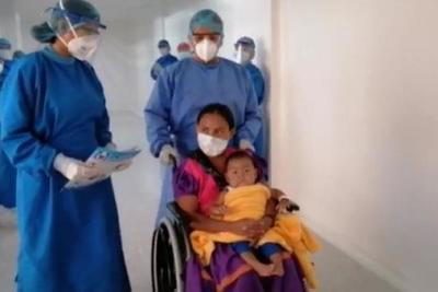 Niño de 1 año y 9 meses vence al Covid-19 en Asunción