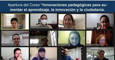 Docentes de Harvard capacitan a paraguayos en la metodología Pre-textos