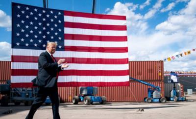 HOY / Trump afirma que Estados Unidos está cerca de vencer al coronavirus