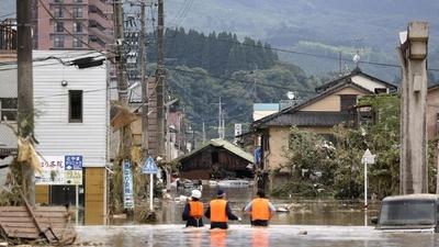 Lluvias torrenciales en Japón causan más de 30 muertos y localidades aisladas