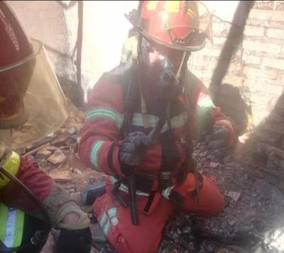 J. A. Saldivar: Fiscal investiga causa de incendio que dejó un fallecido
