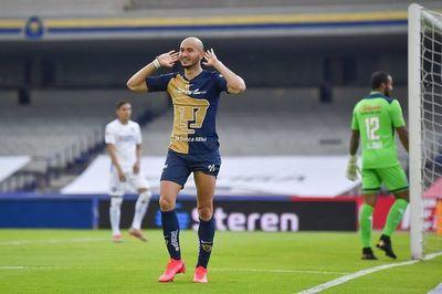 González convierte en derrota de Pumas