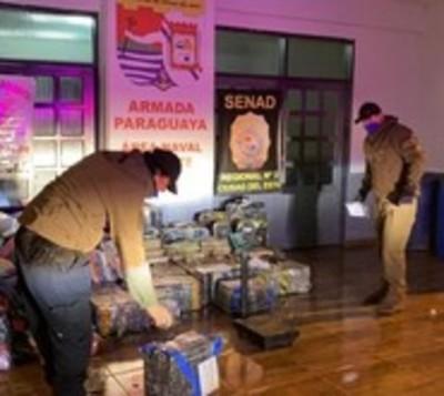 CDE: Confiscan gran cargamento de droga