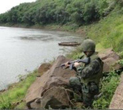 Armada habla de dos incursiones de militares brasileños