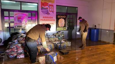 Operativo de Senad termina con incautación de más de 600 kilos de marihuana