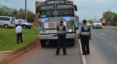 Señalan que empresas de transporte público que van al interior del país están en una complicada situación económica