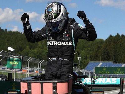 Bottas, primer líder tras ganar en Austria