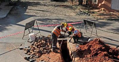 Obras de alcantarillado sanitario en Asunción se desarrollarán esta semana